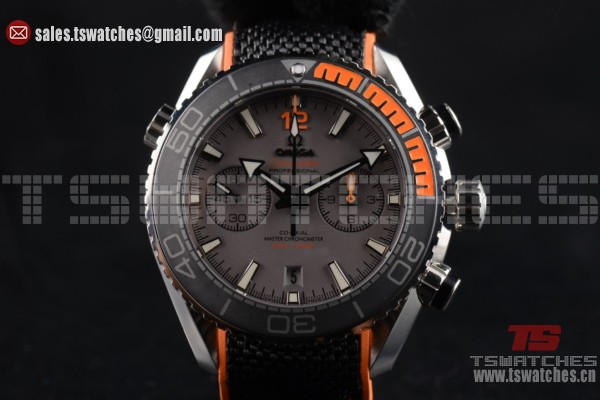 1:1 Omega Seamaster Planet Ocean Master Chronometer 9900 Auto SS/LT Grey Dial (EF)