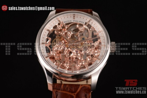Patek Philippe Complicated Skeleton Dial SS/LT - Asia Automatic (GF)