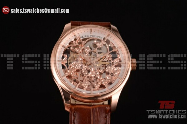 Patek Philippe Complicated Skeleton Dial RG/LT - Asia Automatic (GF)