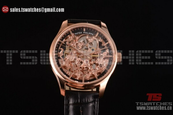 Patek Philippe Complicated RG/LT Skeleton Dial - Asia Automatic (GF)