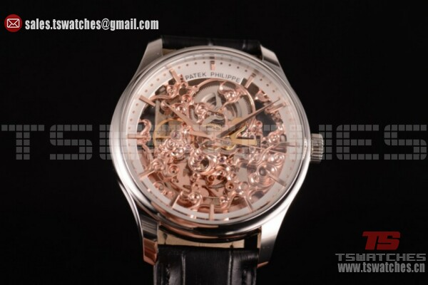 Patek Philippe Complicated SS/LT Skeleton Dial - Asia Automatic (GF)