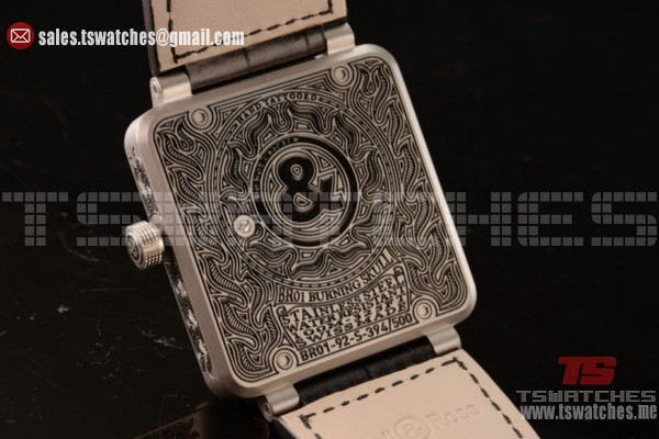 Bell & Ross BR 01-92 Asia Auto Skull Dial BR 01-92