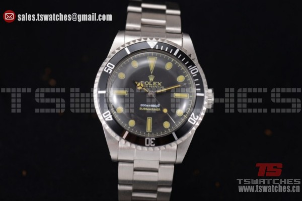 Rolex Submariner Vintage Black Dial SS/SS-2813 Auto