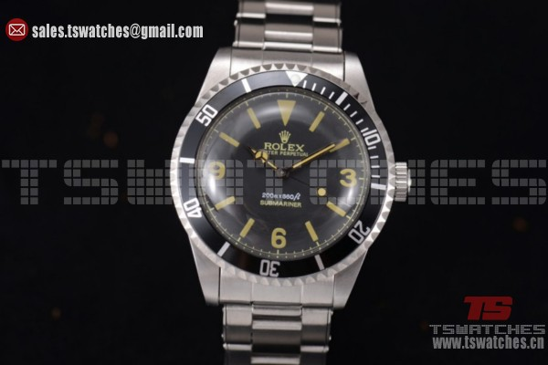 Rolex Submariner Vintage SS/SS Black Dial-2813 Auto