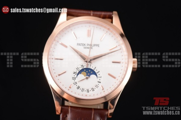Patek Philippe Complications White Dial RG/LT - Miyota 9015 Auto