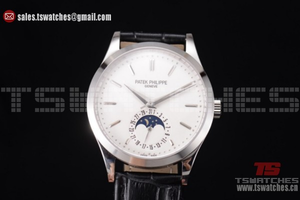 Patek Philippe Complications White Dial SS/LT - Miyota 9015 Auto