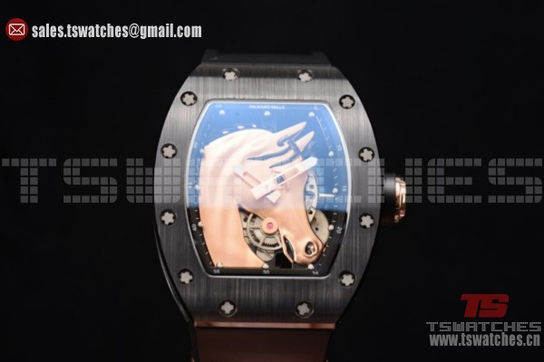 Richard Mille RM52-02 Horse Limited Miyota 9015 Auto PVD/RU Horse Dial