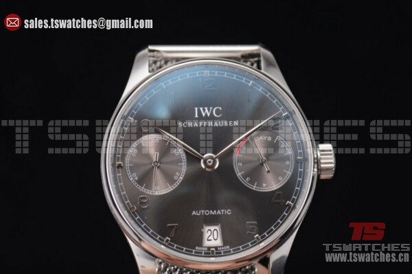 IWC Portuguese Automatic Black Dial SS/SS - 52010 Auto(YL)
