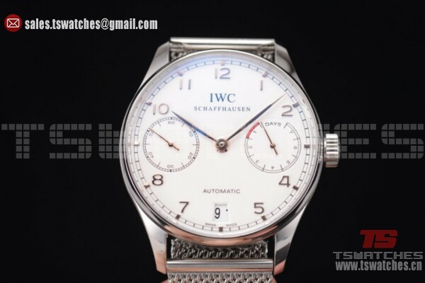 IWC Portuguese Automatic White Dial SS/SS - 52010 Auto(YL)