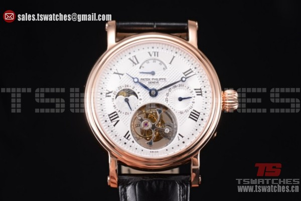 Patek Philippe Grand Complication White Dial RG/LT - Swiss Tourbillon Auto(AAAF)
