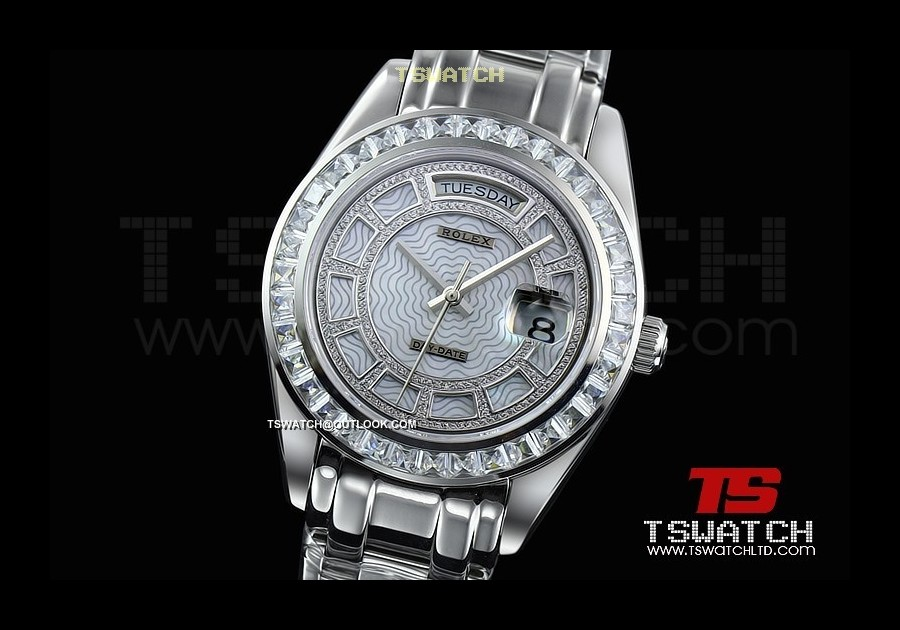 RO15596 - Day-Date MOP Dial Diamond SS