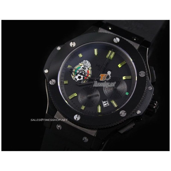 HB7637 - Big Bang Mexico 1:1 limited edition Ceramic Mechanical Chronograph - Asia 7750