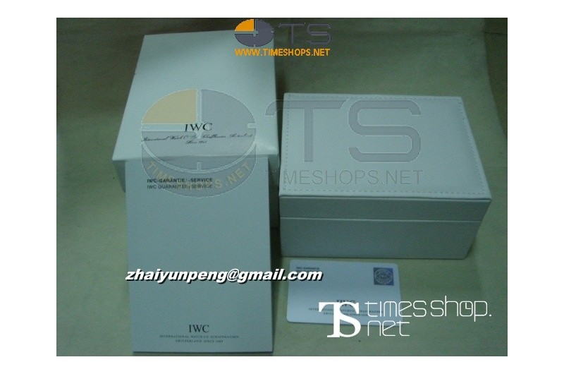 IWC Genuine Style BoxSet with Papers/Cards