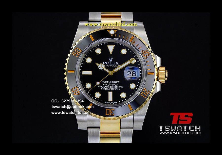 RO17252 - Submariner 116613 LN Noob 1:1 YG Wrapped A3135