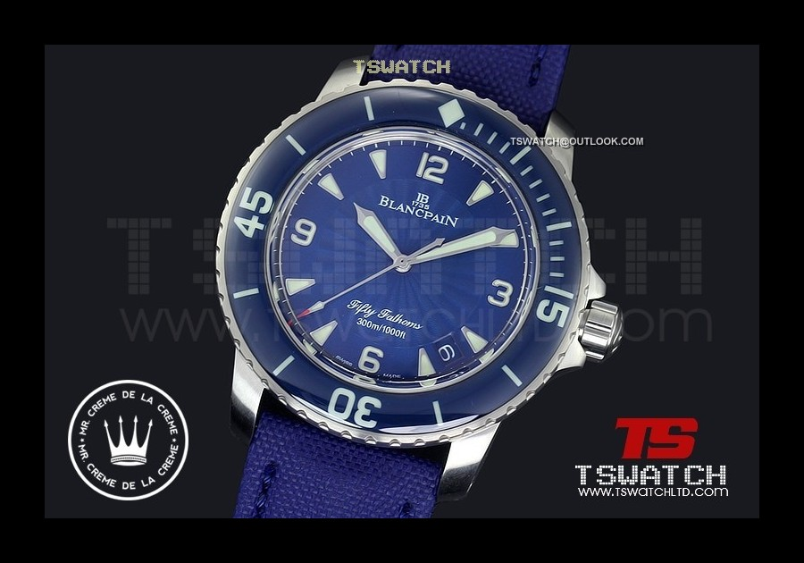 BL15940 - Fifty Fathoms Noob Blue Dial 1:1 Best A2836