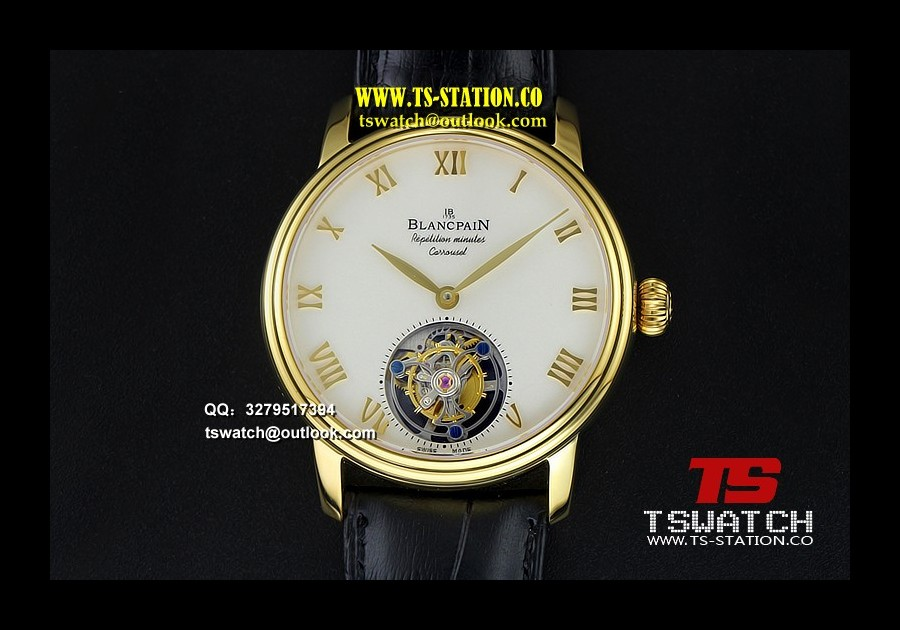 BLAN17732 - Carrousel Tourbillon YG Erotic Caseback LT Tourbillon