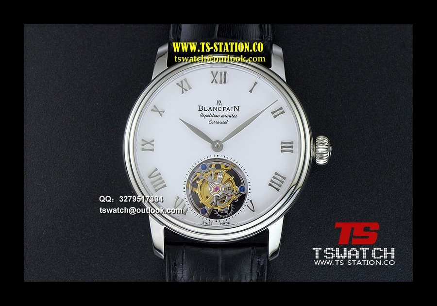 BLAN17735 - Carrousel Tourbillon SS Erotic Caseback LT Tourbillon
