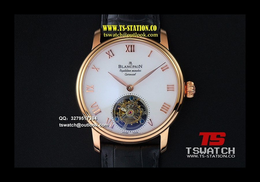 BLAN17732 - Carrousel Tourbillon RG Erotic Caseback LT Tourbillon