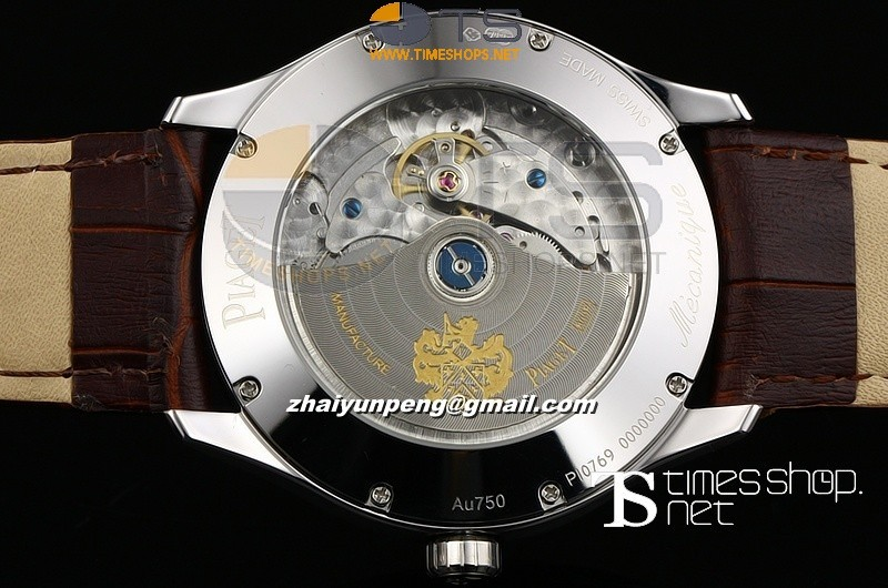 PI13325 - Piaget Mans Brown Dial SS/LT - Asian Automatic