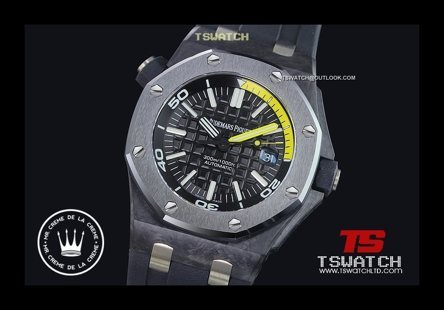 AP15796 - Royal Oak Diver Forged Carbon Noobfactory Perfect Edition Asian 2824