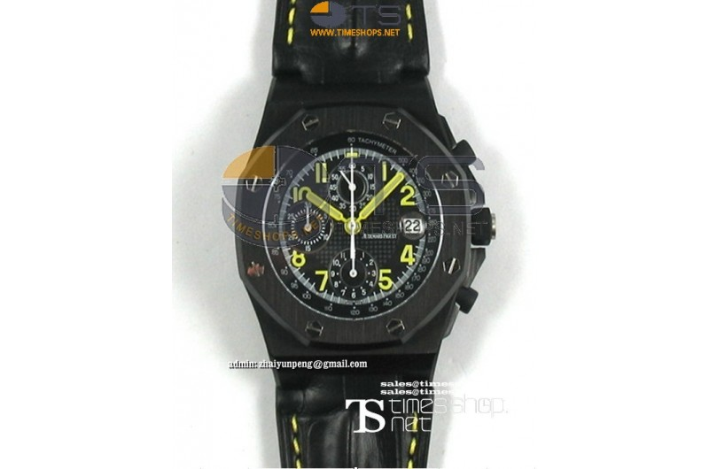 APXF - AP End of Days Limited Edition PVD/LT Black Dial - Asian 7750 28800bph 12:00 Sec