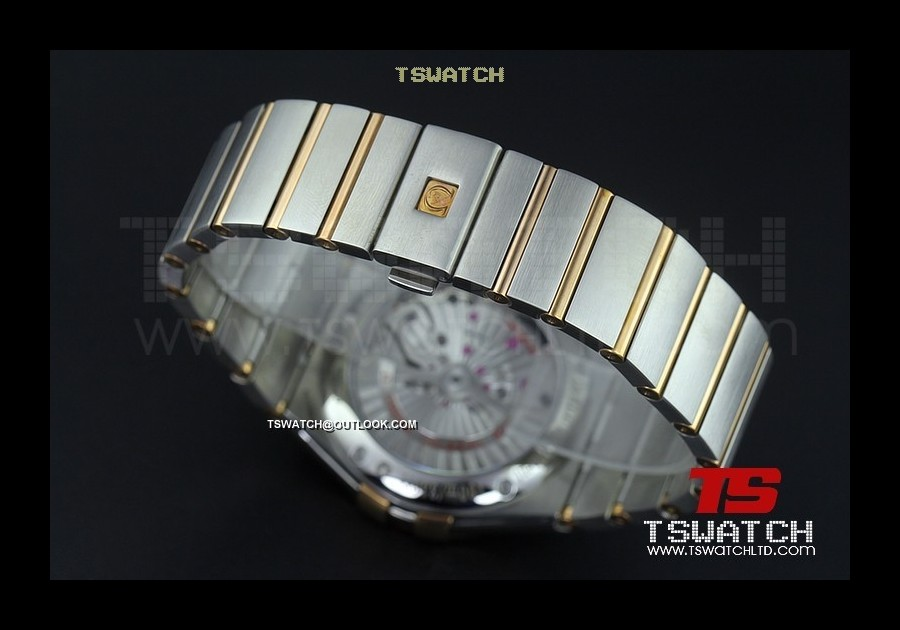 OM15815 - Omega Constellation Co-Axial TT RG Brown Dial 1:1 Best A8500