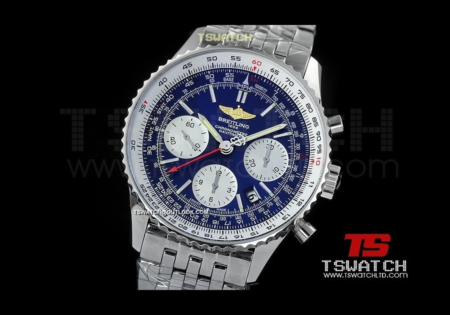 BR15833 - Montbrillant Chrono JF SS Blue Dial SS A7750