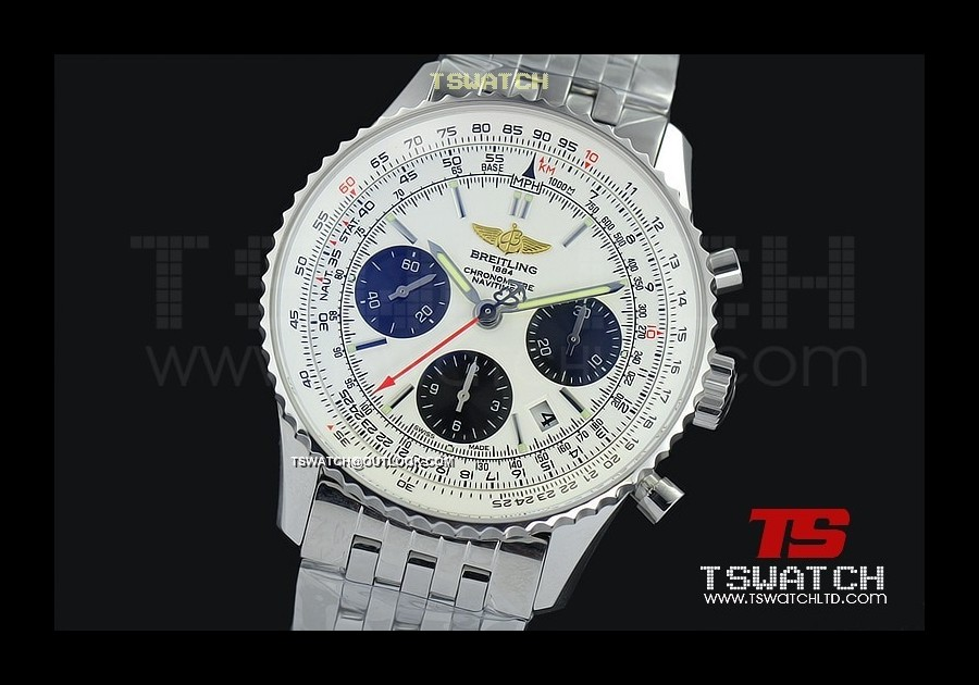 BR15834 - Montbrillant Chrono JF SS White Dial SS A7750