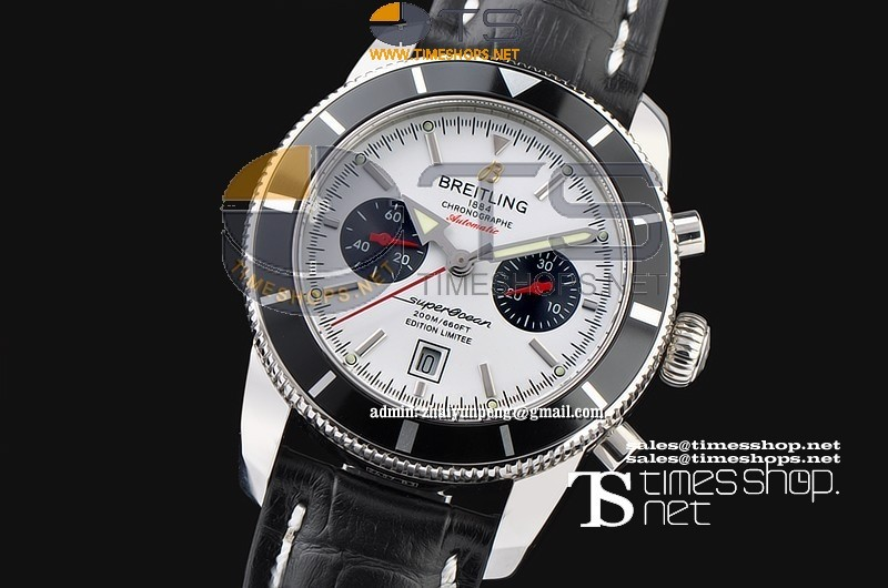 BR6290FO - Breitling SuperOcean Heritage 125th Limited Edition SS/LT White - Asian 7750