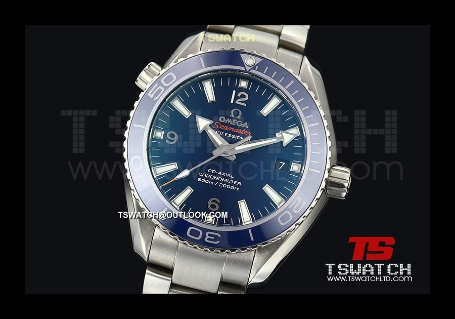 OM14662 - Omega Planet Ocean TI Blue Ceramic 42MM Swiss ETA 2824-2