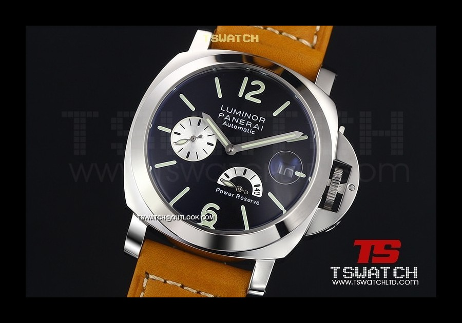 PA14971 - Luminor Power Reserve SS LT Black Dial Asian Automatic