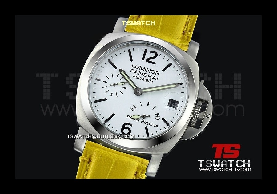 PA13989 - Pam241 Luminor 40MM Light Version Working Power Reserve Asian 21J Automatic SS/LE