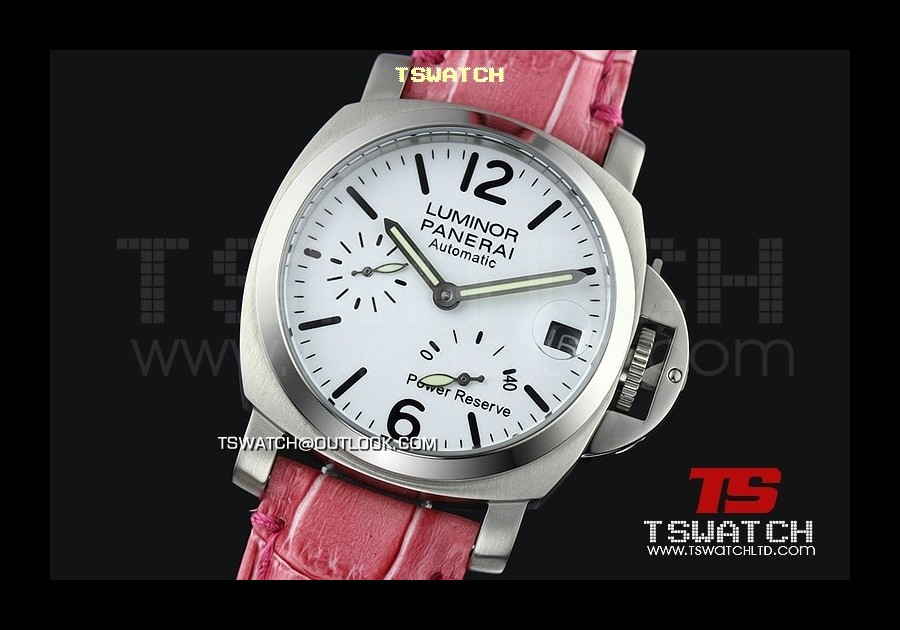 PA13978 - Pam241 Luminor 40MM Light Version Working Power Reserve Asian 21J Automatic SS/LE