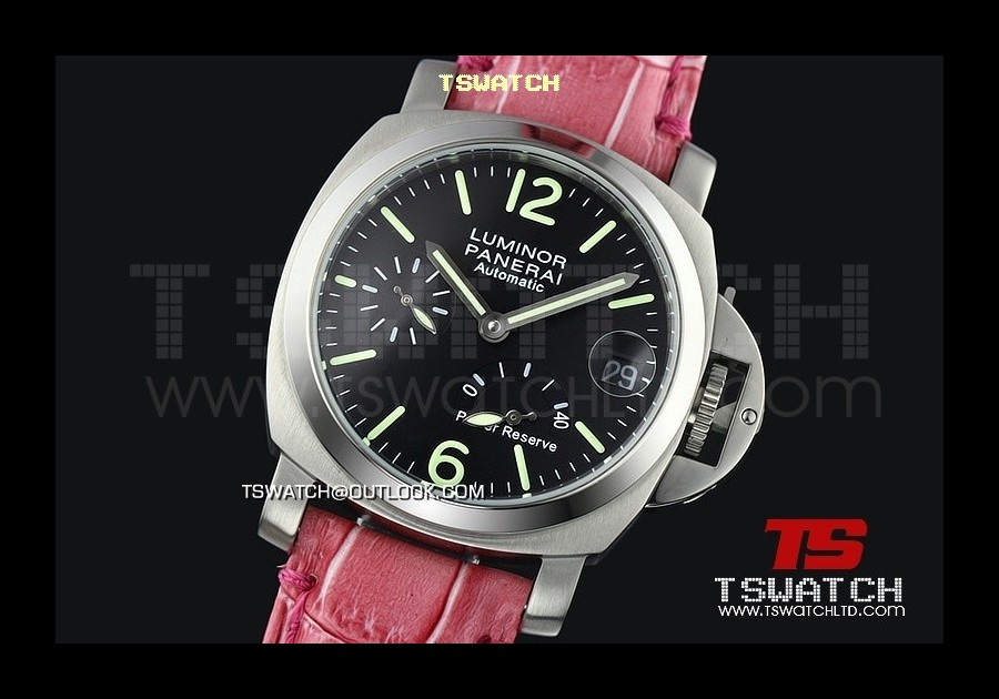 PA13976 - Pam241 Luminor 40MM Light Version Working Power Reserve Asian 21J Automatic Black