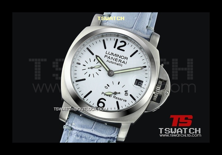 PA13972 - Pam241 Luminor 40MM Light Version Working Power Reserve Asian 21J Automatic SS/LE