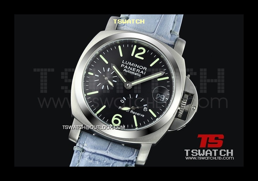 PA13970 - Pam241 Luminor 40MM Light Version Working Power Reserve Asian 21J Automatic BLK