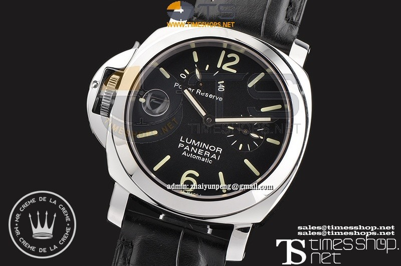 XFPA2950 - Pam123 Luminor Lefty Black Dial Power Reserve SS/LT Black - Asian 23J Automatic