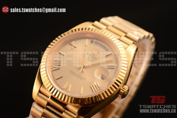 Rolex Day-Date 3235 Auto Yellow Gold Dial YG/YG